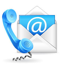 A contact us icon with a phone