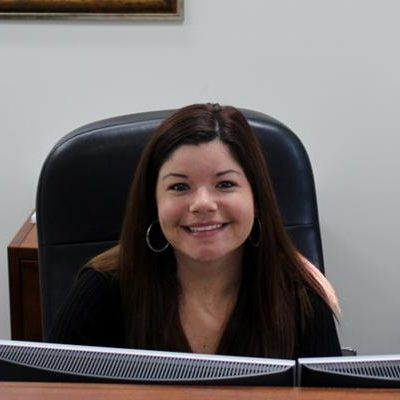 A photo of Kelli Van Voorhis, head of design and marketing at Accounting & Tax Brokerage.