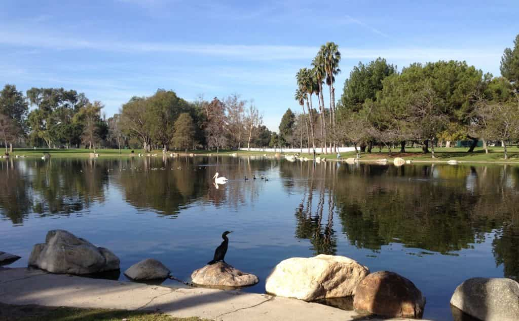 Mile Square park in Fountain Valley, California.